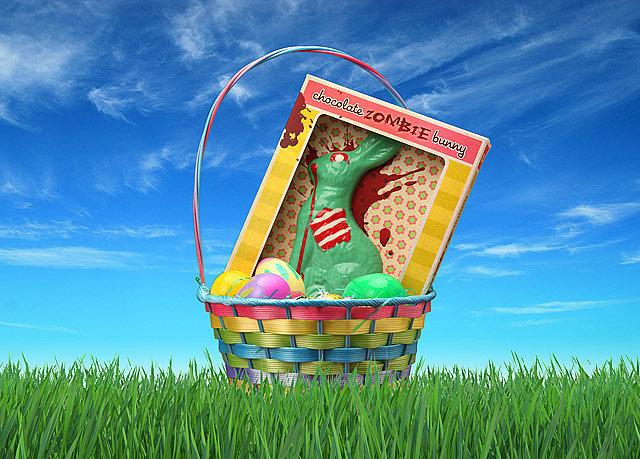 Chocolate zombie bunny ($7, originally $15) . . . sure, why not?