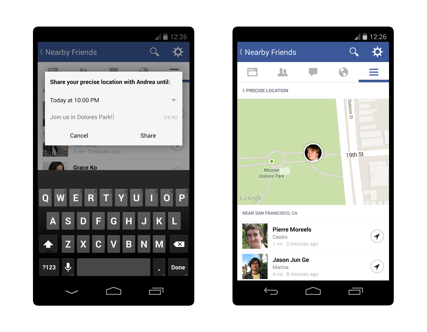 How Facebook Can Be Your Real-Time Friend Tracker