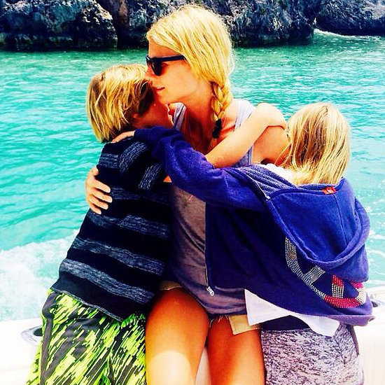 Gwyneth Paltrow Tweets Picture of Her Kids