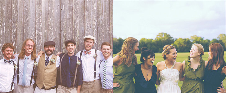 Meredith and Corey's Succulent-Filled Dock-House Wedding