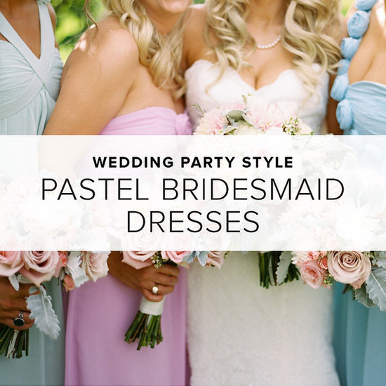 Pastel Bridesmaid Dresses | Shopping