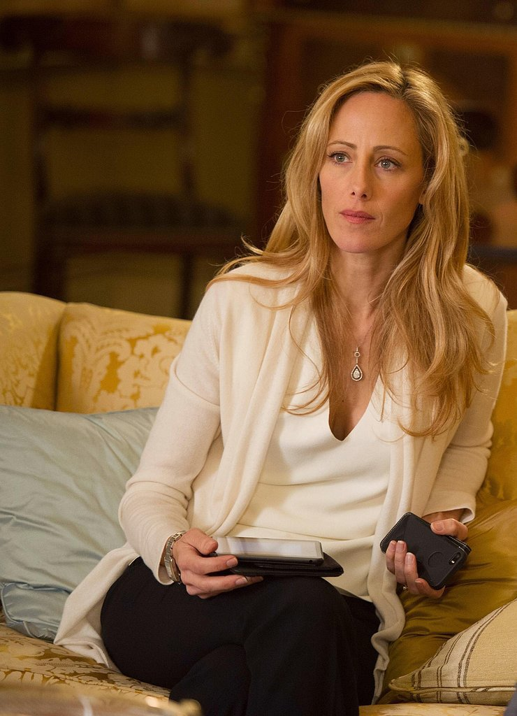 Kim Raver returns as Audrey Heller.