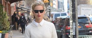 Did Karolina Kurkova Pull Off This All-White Outfit?