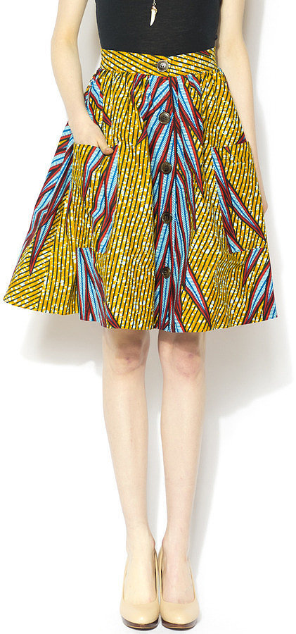 Royal Jelly Printed Full Skirt
