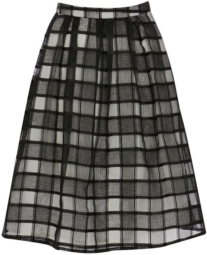 Warehouse Check Skirt