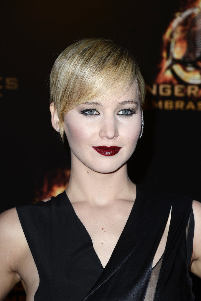 Jennifer Lawrence's Sleek Pixie