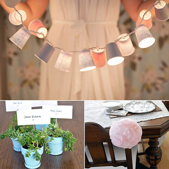 17 Eco-Friendly Wedding DIYs