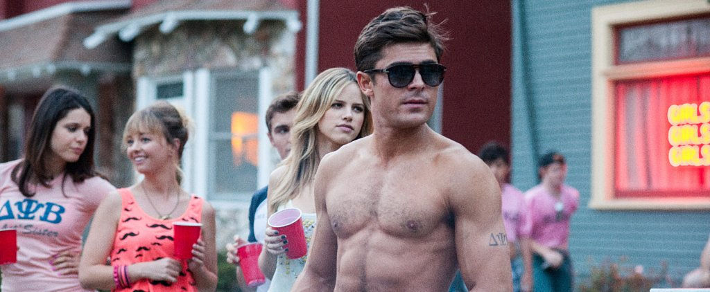 Every Hot Picture of Zac Efron in Neighbors