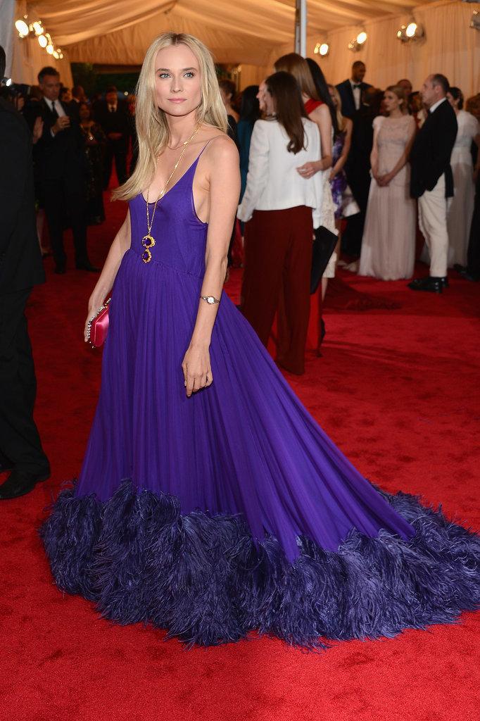 Diane Kruger in Prada at the 2012 Met Gala