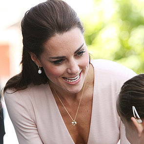 Kate Middleton in a Low-Cut Top