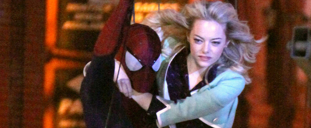 Emma Stone Helped Pick Out Her Spider-Man Costumes!