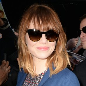 Celebrity Hair Emma Stone New Fringe And Hairstyle Poll
