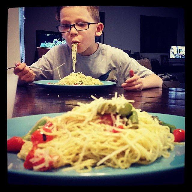 He Eats and Eats