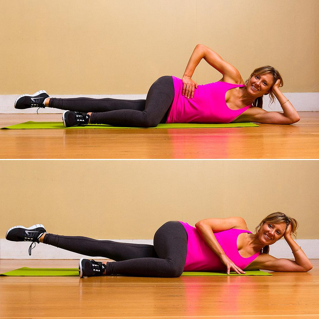 Pilates Side-Lying Leg Lifts | Skip the Inner-Thigh ...