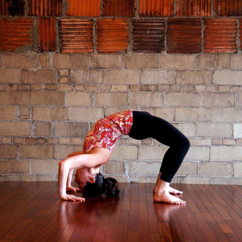 How To Do A Yoga Wheel Pose