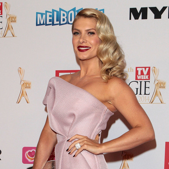 Pictures of Natalie Bassingthwaighte at 2014 Logie Awards