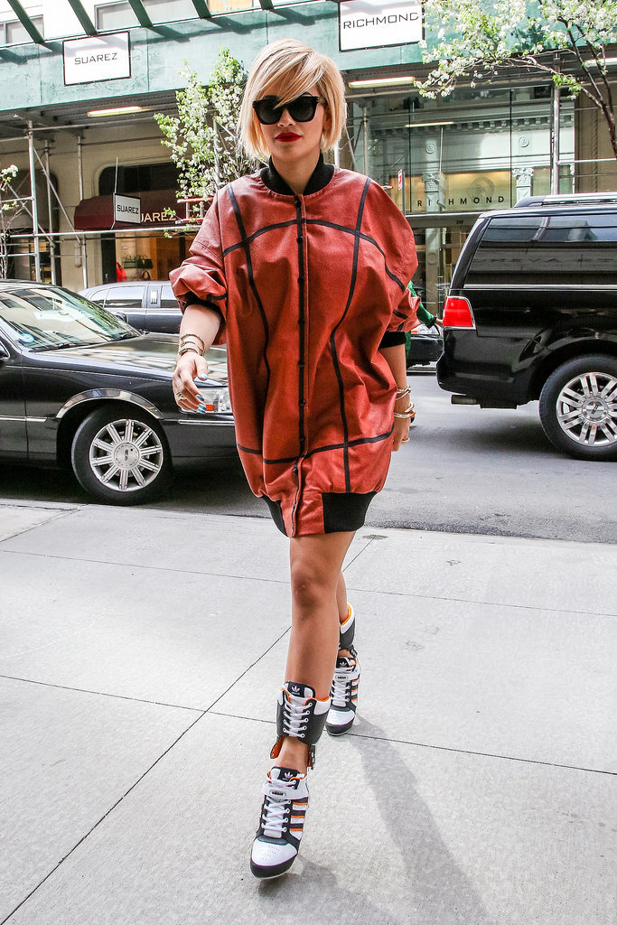 Rita Ora Arriving to a New York Office