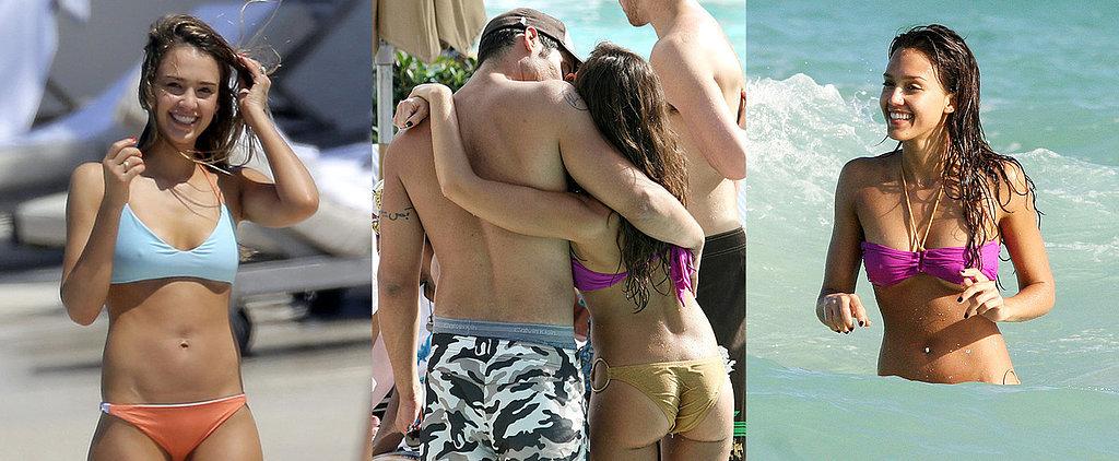 Jessica Alba's Sexiest Bikini Moments
