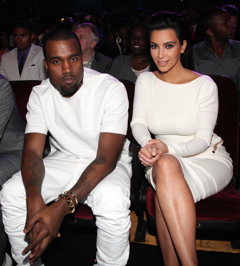 A Kanye West and Kim Kardashian Sighting