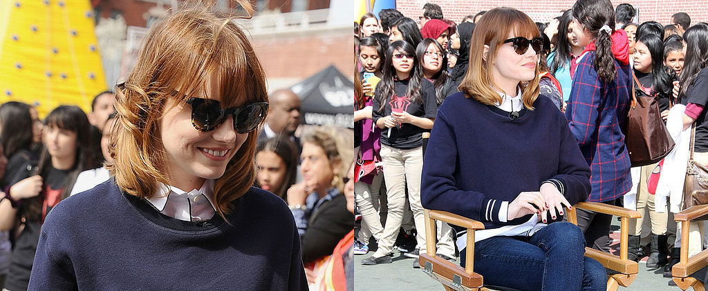 Even in Jeans, Emma Stone Continues to Amaze