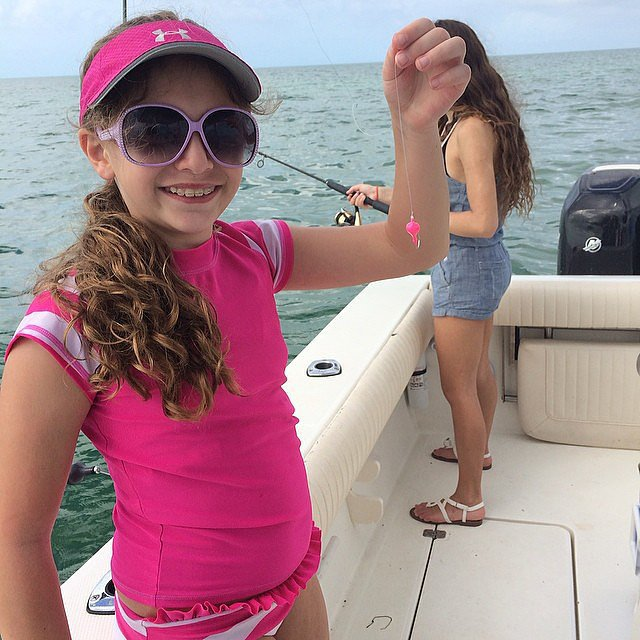 . . . Which She Wears While Fishing