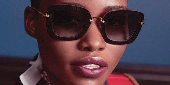 Lupita Nyong'o Couldn't Be Any Cooler In The New Miu Miu Eyewear Ads (PHOTO, VIDEO)