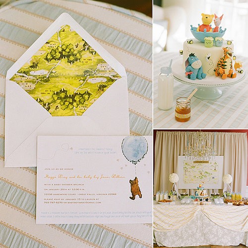 A Hundred Acre Wood Baby Shower