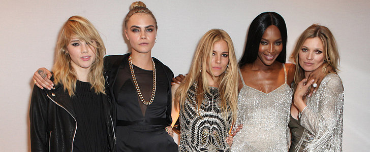 Kate Moss Brought Out the Big Guns For Her Topshop Launch