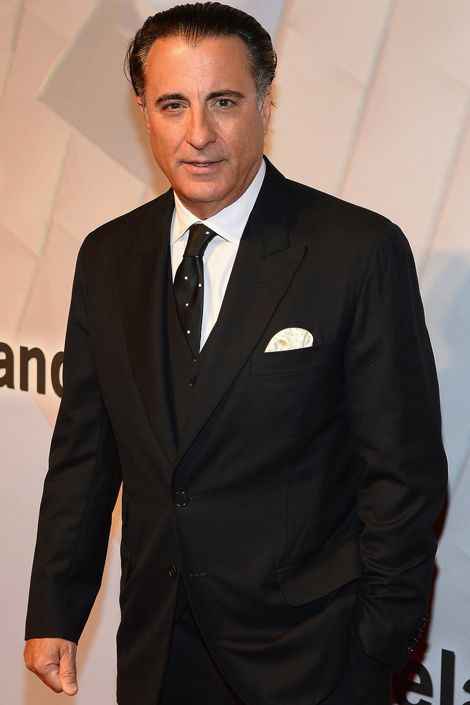 Andy Garcia joined Max Steel in the role of a mysterious scientist.