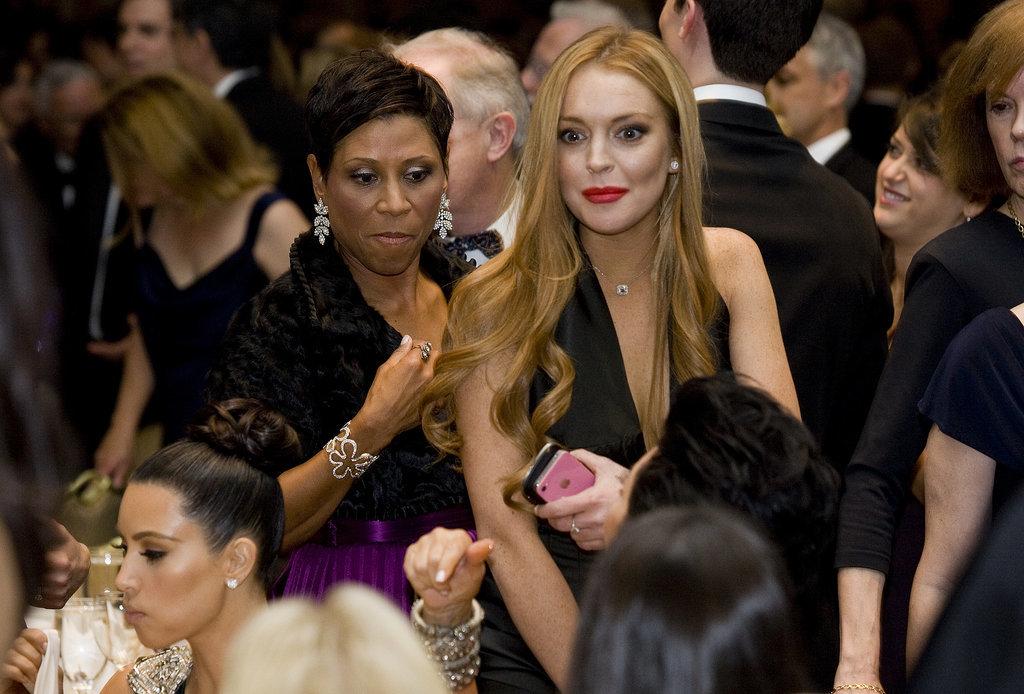 No. 5: Lindsay Lohan in 2012