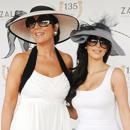 Celebrities at the Kentucky Derby