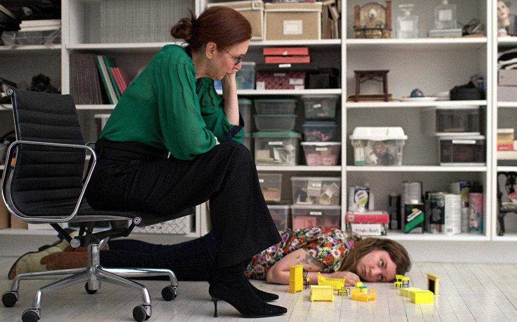 Lena Dunham and Laurie Simmons