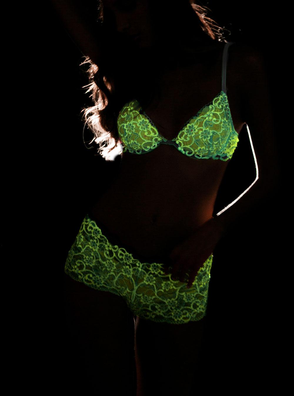 Cosabella Glow-in-the-Dark Lingerie