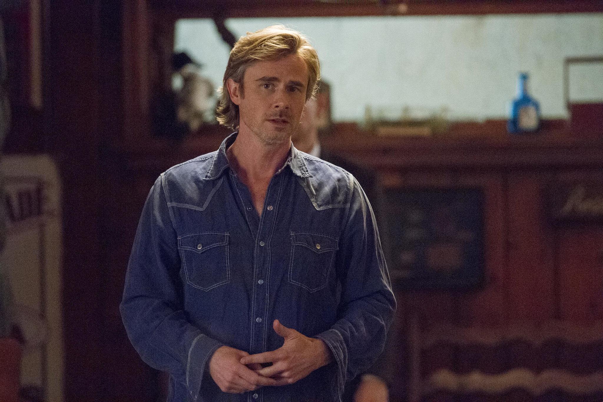Sam Trammell stars as Sam.
