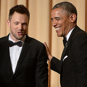 Joel McHale at the White House Correspondents' Dinner 2014