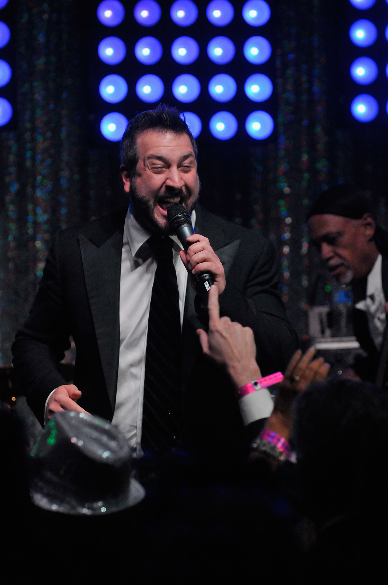 Joey Fatone was one of the stars who performed at the Barnstable Brown Gala on Friday.