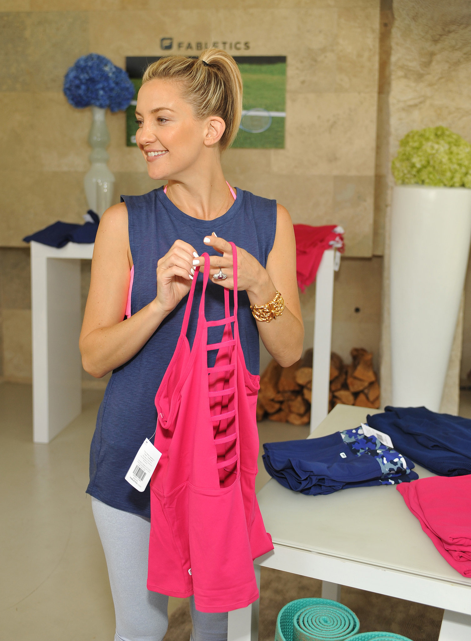 Kate Hudson's Pilates Physique Is Front and Center