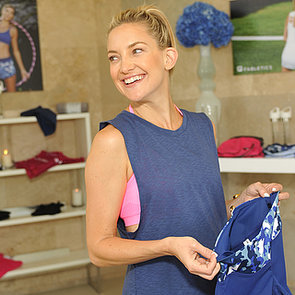 Kate Hudson Promotes Her Fabletics Activewear | Pictures