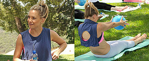 Kate Hudson's Pilates Physique Is Front and Centre