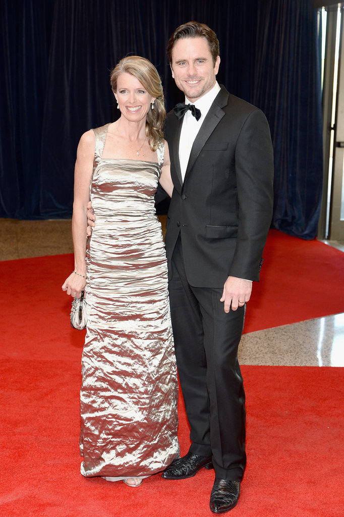 Nashville star Chip Esten turned the dinner into a date night with his wife, Patty.