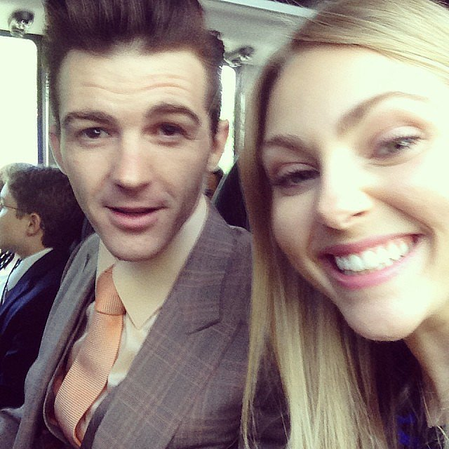 AnnaSophia Robb and Drake Bell hopped on a bus and went to Capitol Hill to discuss the importance of the arts with congressmen and -women. Source: Instagram user annasophiarobb