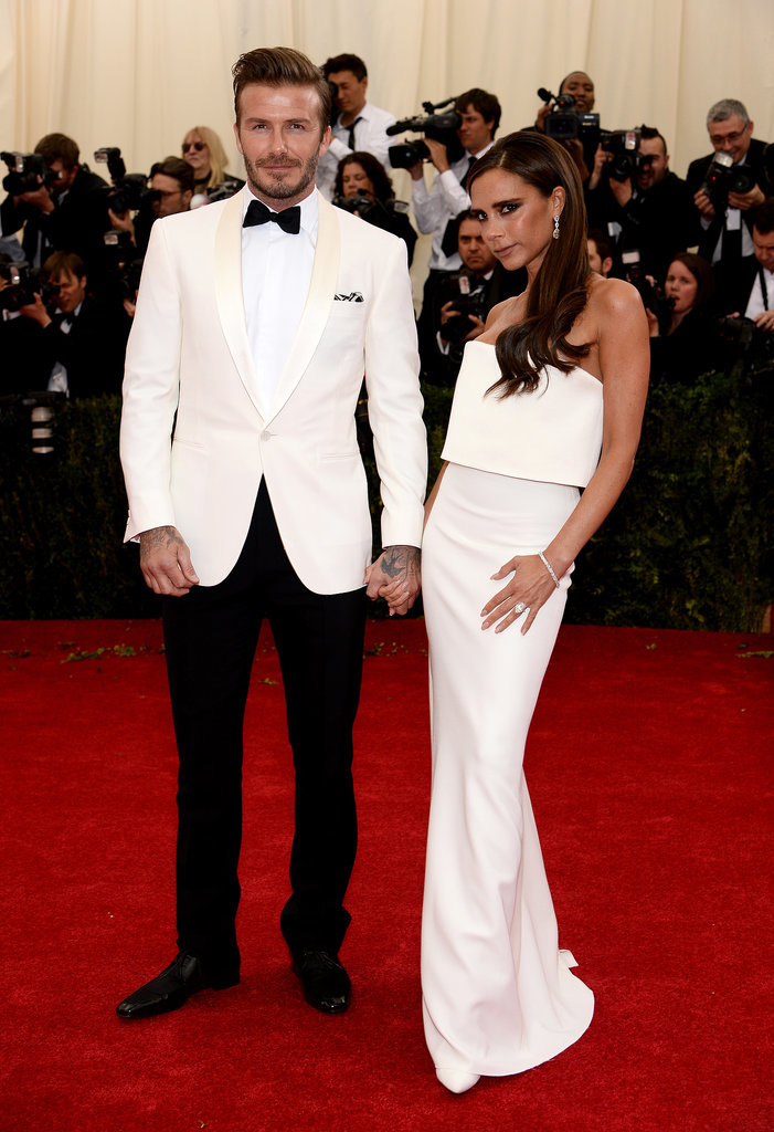 The couple worked their best angles at the 2014 Met Gala.