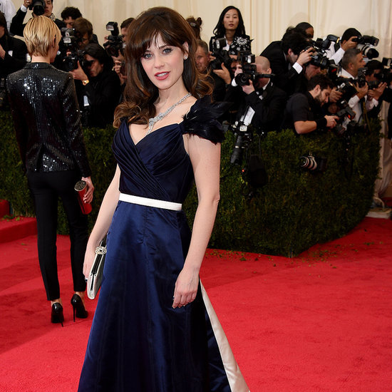 Zooey Deschanel at the Met Gala 2014