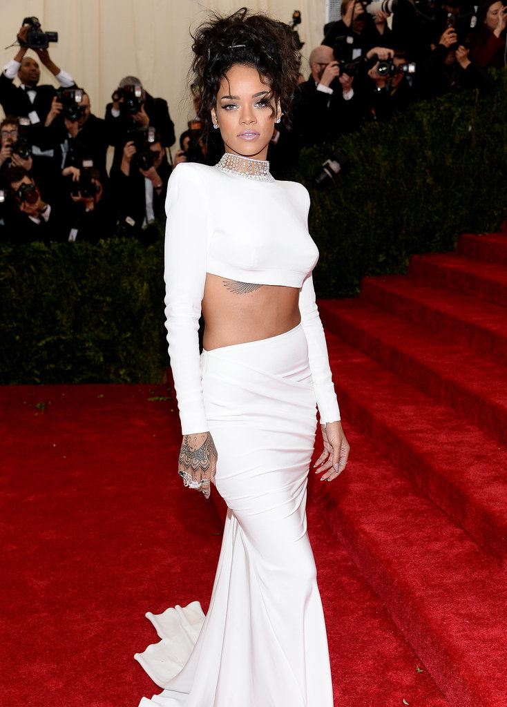 Rihanna Bares Her Bum Post-Met Gala, For Some Reason