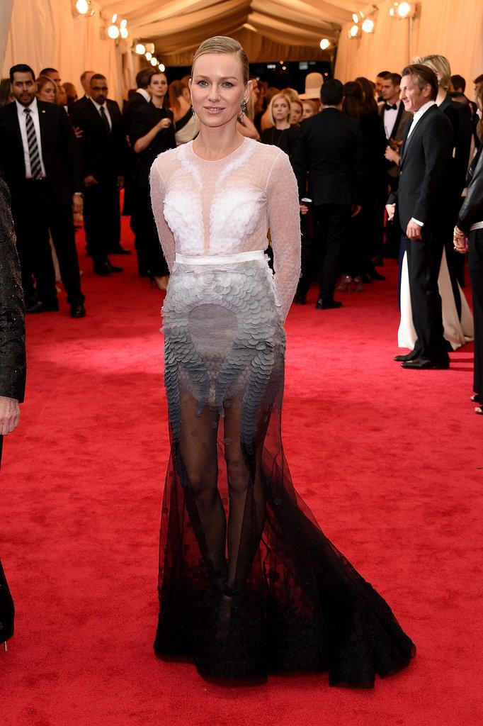 Naomi Watts at the Met Gala 2014 | POPSUGAR Celebrity