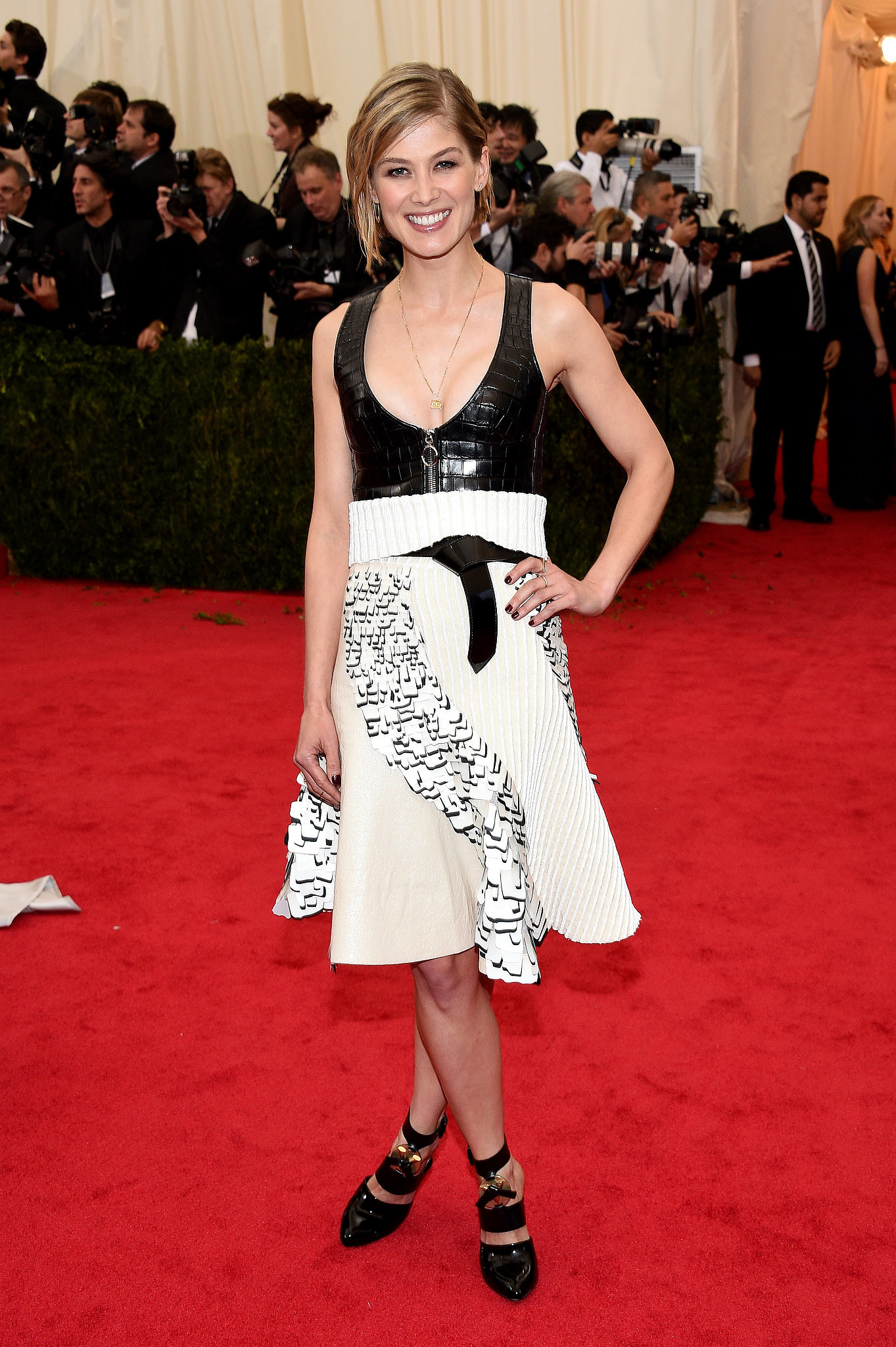 Rosamund Pike at the 2014 Met Gala | Who Wore What: See ...Rosamund Pike 2014