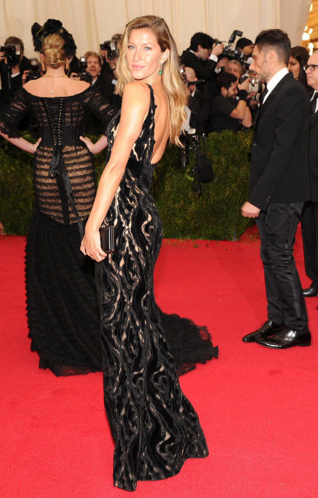 There's Gisele Bündchen . . . and Kate Upton's backside.