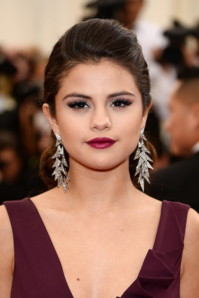Do You Like Selena Gomez's Wine Lipstick?