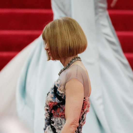 Anna Wintour Puts on Perhaps Her Most Important Dress Ever