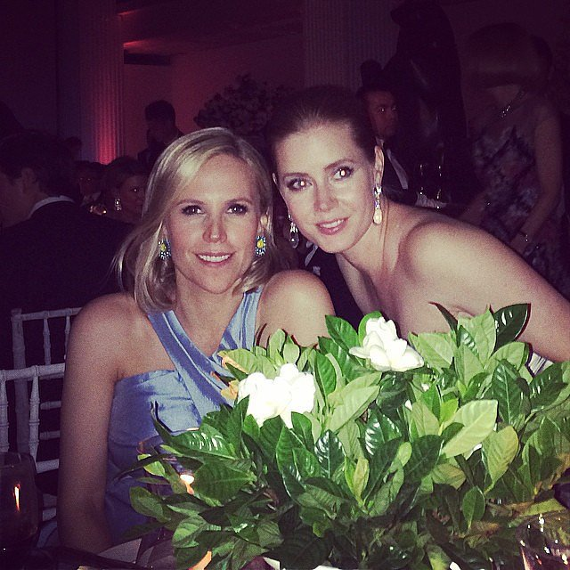 Amy Adams and Tory Burch stayed close.   The Met Gala Isn ...